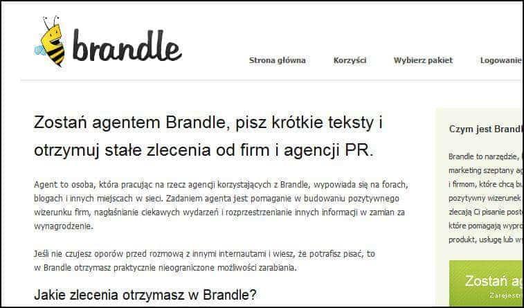 Jak zarabiać dzięki Brandle.pl? – Pisanie na forach i blogach